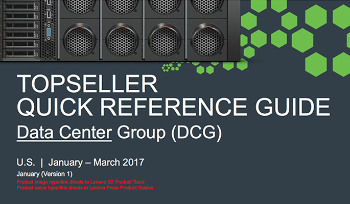 DCG Services TopSeller Quick Reference Guide