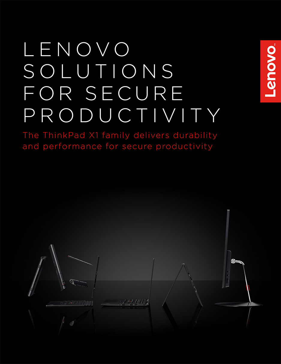 Lenovo Solutions For Secure Productivity Solution Brief