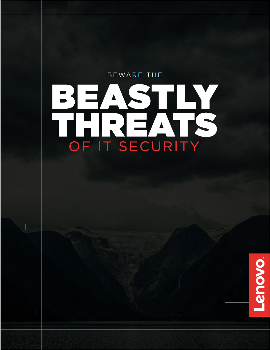 Lenovo Ebook: Beware the Beastly Threats of IT Security